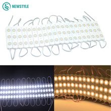 100pcs/lot NEW 5730 3LED injection led module with lens Waterproof IP65 12V,120degree1.5W white,LED sign,shop banner