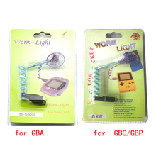 xunbeifang Brand new Worm Light Illumination LED Lamps with packing for GBA for GBP for GBC Game Console for Gameboy Advance(China)
