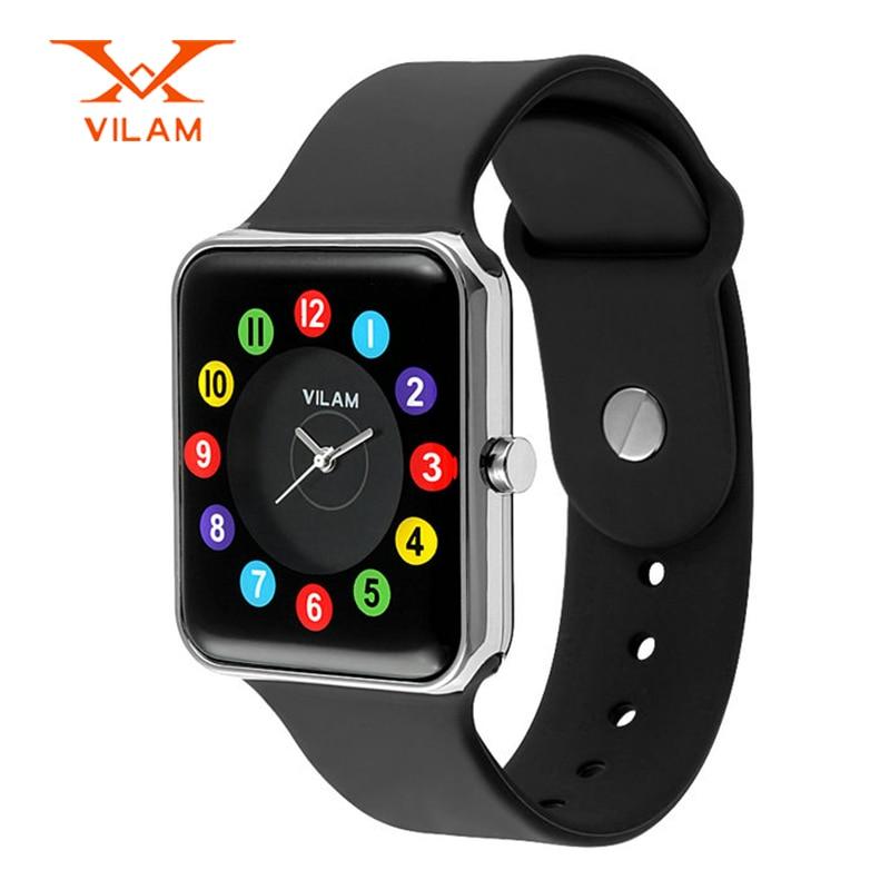 VILAM high quality luxury watches women fashion casual quartz watch silicone clock women ladies relogio feminino 15011B<br><br>Aliexpress