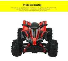 RC Car 2.4G 4CH 4WD Rock Crawlers 4x4 Driving Car Double Motors Drive Car Remote Control Car Model Off-Road Vehicle Toy