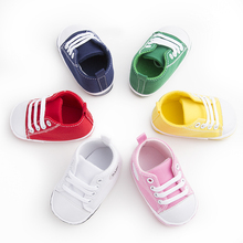 Classic Branded Baby Shoes Girl Boys Sport Sneakers Kids Chaussures Newborn Boots Children Booties Infant hard Sole bebe Sapatos(China)