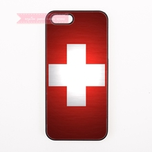 design cover case for iphone 4 4s 5 5s 5c se 6 6S 7 Plus iPod Touch 4 5 6 cases Coat of arms of Switzerland flag National Emblem