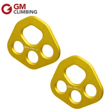 Rigging Plate Rope Rescue Rock Climing Bear Paw Anchor Plate 30kN / 6700lbs for Arborist Mountaineering Caving(China)