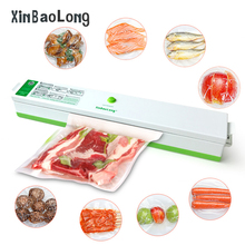 Automatic Electric Household Food Vacuum Sealer Machine 110V-220V Film Sealer Food Vacuum Packer Including 15Pcs Bags