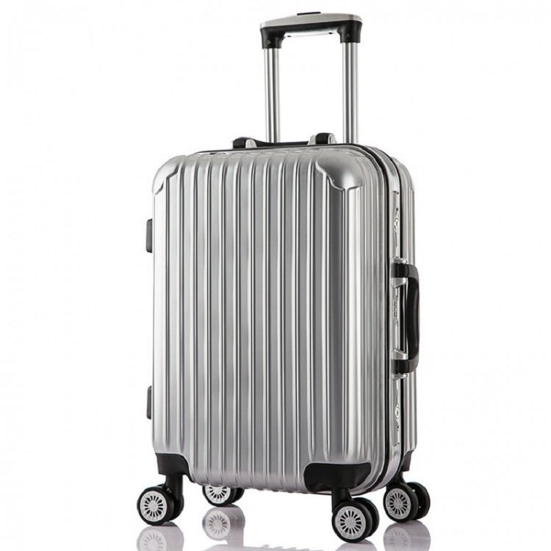 20/24 inches High quality aluminum frame men trolley case ABS+PC Travel luggage rolling suitcase creative business Boarding box<br><br>Aliexpress