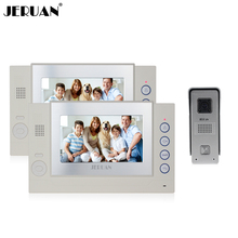 JERUAN 7`` video doorphone video doorbell intercom system video door phone recording photo taking speaker intercom free shipping