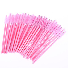 100Pcs pack Disposable Eyelash Brush Mascara Wands Applicator Wand Brushes Eyelash Comb Brushes Spoolers Makeup Tool(China)