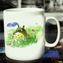 New Totoro Ceramic Coffee Mug White Color Or Color Changed Cup Field Trip---Loveful