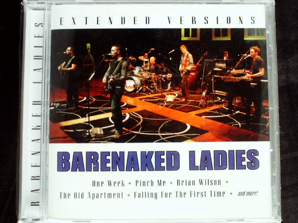 Barenaked Ladies - Extended Versions USA Original CD NEW SEALED  -  41CD Store store