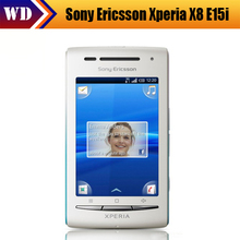 "X8 100% Original Sony Ericsson Xperia X8 E15i Cell phone Android 3.0""Touch Screen 3G WIFI GPS Camera 3.15MP Free Shipping"