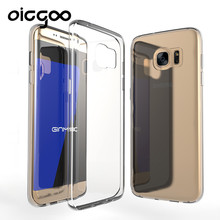 Oicgoo Transparent Case For Samsung Galaxy S7 Ultra Thin Clear Soft TPU Silicone Cover Cases For Galaxy S7 edge Case Coque