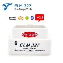 New wow CDP White Super Mini Elm327 Bluetooth V2.1 OBD2 ELM 327 Bluetooth Smart Car Diagnostic works on Android(China)