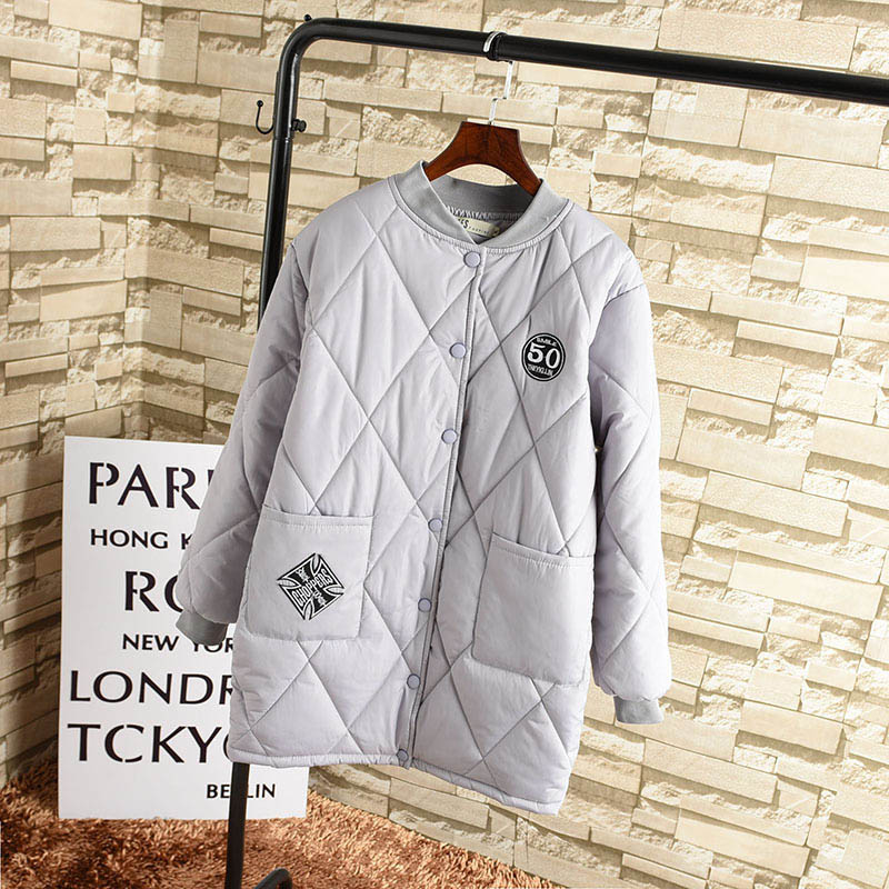 Winter Coat Women 2017 New Women Parkas Winter Autumn Casual Outwear Long  Large Size V-neck Thickening Cotton Coat CC444Îäåæäà è àêñåññóàðû<br><br>