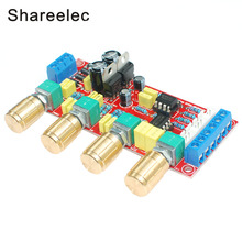 Shareelec NE5532 OP-AMP HIFI Amplifier Preamplifier Volume Tone EQ Control Board DIY KIT and finished product(China)