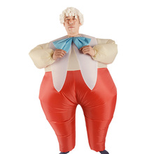 Gorilla is suitable for Halloween Duke red pants fun doll inflatable clothing performance activities props gas mode costumes(China)