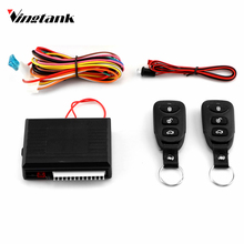 Vingtank Car Alarm Systems Auto Remote Central Lock Locking Control Door Keyless Entry System Kit with Remote Control(China)