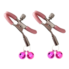 Buy 1 Pair Women Nipple Clamp Double Bells Nipple Clamps Erotico Pinzas Pezones Teasing Sex Game Bdsm Toys Bondage Set