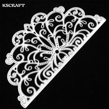 KSCRAFT Invitation Card Lace Border Metal Cutting Dies for DIY Scrapbooking/Card Making/Kids Fun Decoration Supplies