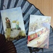 10 Маленький принц ручная роспись узор ryhthm Of Life Почтовые открытки книга набор/Открытки Ассорти/день рождения карты много(China)