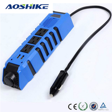 Aoshike 150W Power Car Inverter DC 12V To AC 110V Modified Sine Wave Inverter(China)