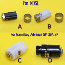 Hinge Axle Shell Repair Parts for Nintendo DS Lite NDSL Rotating Shaft Spindle Hinge Axis Replacement for Gameboy Advance SP GBA(China)