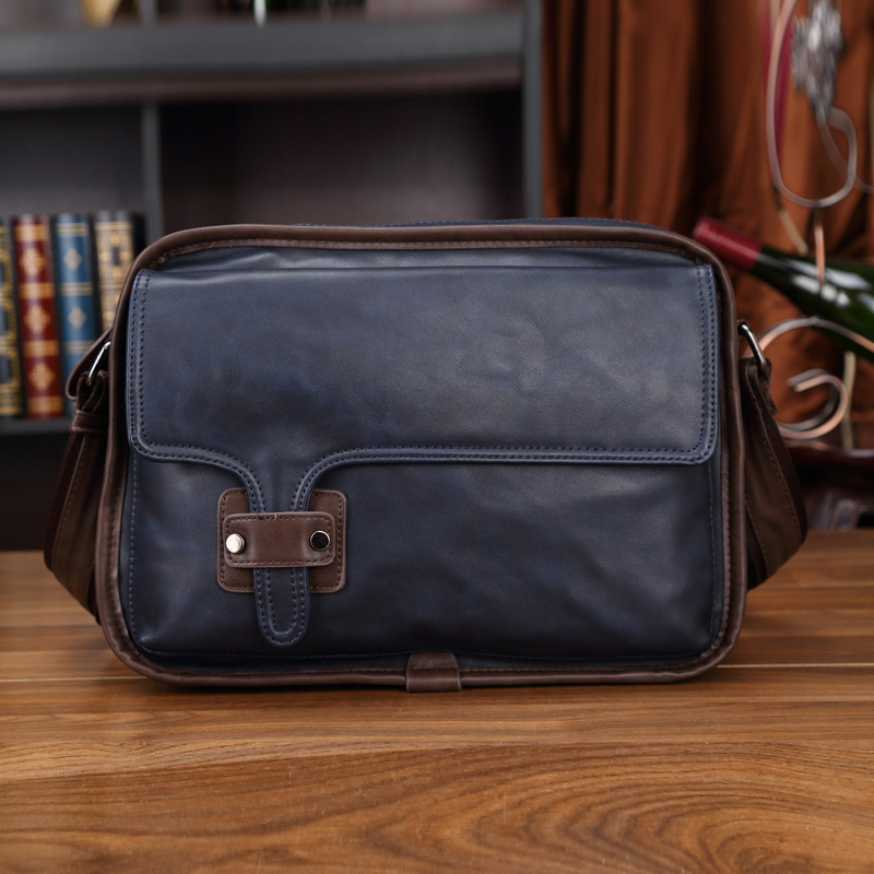 2016 Vintage Designer Brand Leather Men Bag Man Messenger Bags Casual Travel Crossbody Bags High Quality Bolsas Sac a Main A0238<br><br>Aliexpress