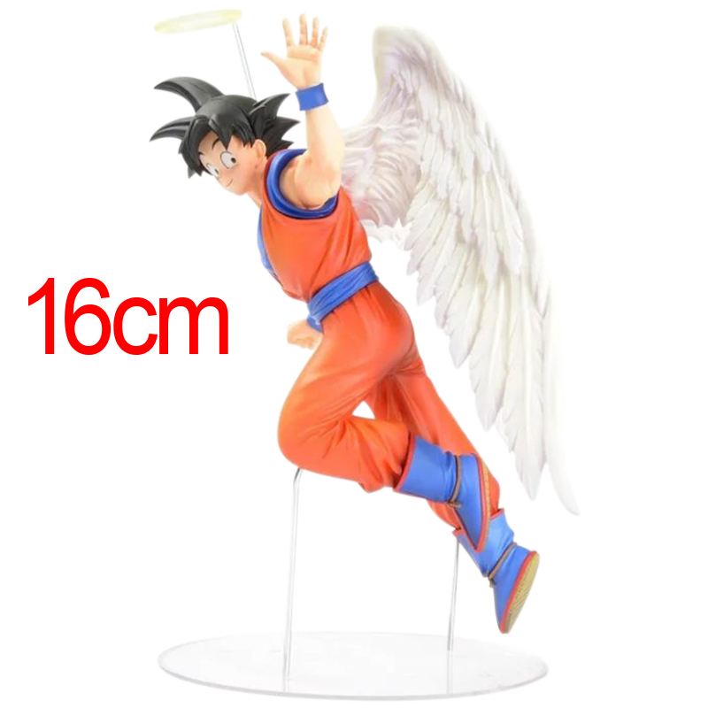 16cm Japanese Anime Figure Toys Dragon Ball Z Action Figure Angel Son Goku Figures Doll PVC Model Kids Toy<br><br>Aliexpress