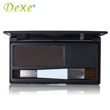 Dark Brown Color Dexe Hair Coloring Products Cover Gray Root Cover Up Hair Color Powder Temporary Hair Dye(China)