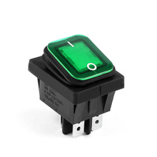 Areyourshop Rocker Switch Waterproof IP65 Boat RL2-102 Car Rocker Switch 4Pin ON/OFF 16A/125V 10A/25(China)