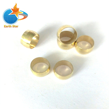 10 PCS EARTH STAR 8mm Compression Fitting Olive Parts for Oil Connection Pipe Promotion Price