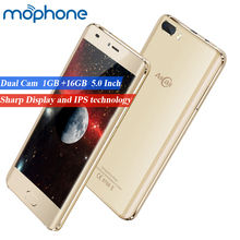 "AllCall Rio 3G Smartphone 5.0"" MTK6580A Quad-core Android 7.0 1GB+16GB Dual Rear Cameras 2700mAh Battery Mobilephone Cellphone"