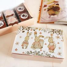 03.14/18x12x4.5cm Wedding Birthday Party Cake Gift Paper Box Christmas Cookie Macaron Chocolate Packing Package Boxes