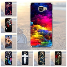 For Samsung Galaxy A5 2016 A510 Cover Scenery Pattern Soft TPU Cases For Samsung Galaxy A5(2016) A510F Mobile Phone Protect Case(China)