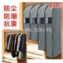 5pcslot Free Ship Wholesale Bamboo Charcoal Non-woven Fabric Suit Dress Garment Bag Dust Covers Home Storage Bag A177()