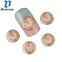 Buy 10 Pcs/Lot 3D Gold Alloy Nail Art Decorations Charms Clock Design Manicure Fashion DIY Nail Accessories TN327 for $1.37 in AliExpress store