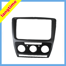 Car refitting DVD frame,DVD panel,Dash Kit,Fascia,Audio frame for 2013 Skoda Octavia(2013 Yi Jie),2DIN