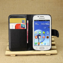 Luxury For Samsung GT-S7262 GT S7262 S7260 7262 Retro Leather Wallet Flip Cover Case For Samsung Galaxy Star Plus Duos S7262 Pro