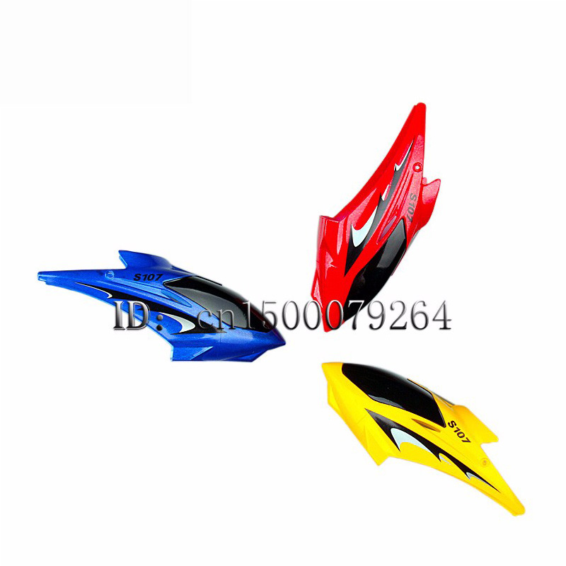 SYMA S107 S107G Mini RC Helicopter with Gyro toy parts, S107C-01 canopy cover spare parts(China)