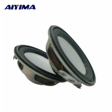 AIYIMA 2pcs 45mm Audio Speaker 1.75 inch 4 ohm 3 W Full Range Neodymium Magnetic Round Audio Speaker DIY Stereo Box Accessories