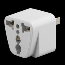2 pin AC American USA Power Plug Adapter Travel Converter Australia UK USA EU HOT NEW