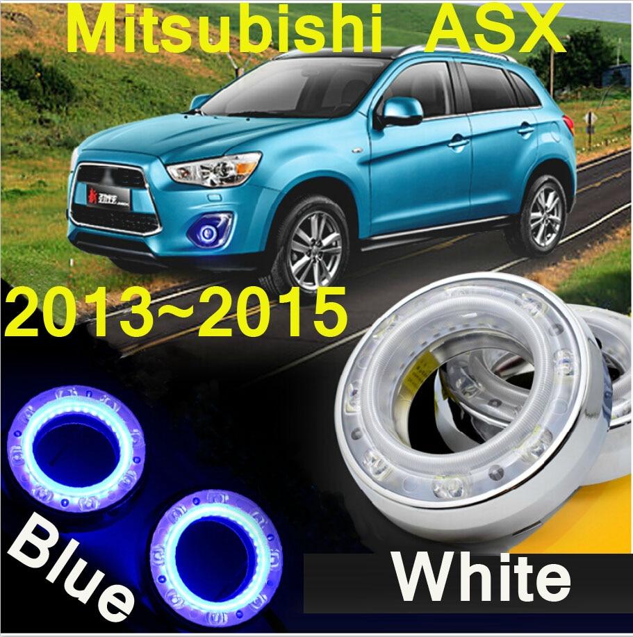 Car-styling,ASX daytime light,2013~2015,chrome,LED,Free ship!2pcs,car-detector,ASX fog light,car-covers,ASX headlight<br>