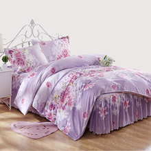 Hot sale Bedding Set Queen King Size ,double single Duvet Cover Set 3/4 Pcs linens Bed Sheet Set USA Russia Size(China)