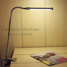 Flexible USB or AC adapter Adjustable Multi-angles LED Lamp kids Eye Protection Reading Light Desk Table Lamp warm cold white