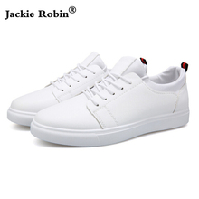 Buy 2018 New Spring Fashion White Shoes Men High Leather Comfortable Sneakers Breathable Black Casual Shoes Male flat for $14.99 in AliExpress store