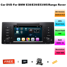 "1024*600 HD 1 din 7"" Android 6.0 Car DVD GPS for BMW M5 E39 X5 E53 With 3G/WIFI Bluetooth IPOD TV Radio mirror link 16GB ROM DVR"