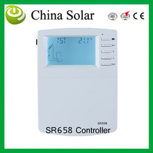 SR658 Solar Water Heater Controller, Pump Speed control, Seat quantity Measurement, External Heat Exchange,Swimming Pool Circuit(China)