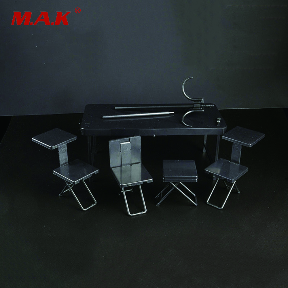 1/6 Foldable Portable Tactics Desk Table Soldier Scene Accessory Model Toys Collection Gift For 12 Action   Figures<br>