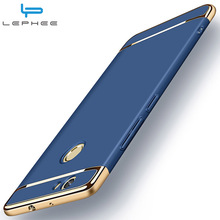 Huawei Nova Case Nova Case Cover LEPHEE Original Luxury Back Case 3 in 1 Hard Matte Cover Slim Fashion Phone Cover Hawei Nova 5""