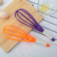Hot Selling Multifunction 2 in 1 rotary egg beaters food-grade PP whip instruments cook detachable washable mixer blender egg