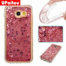 Buy UPaitou Samsung Galaxy A5 2017 Dynamic Liquid Glitter Paillette Case Samsung A5 2017 Bling Back Cover TPU Silicon Case for $2.97 in AliExpress store